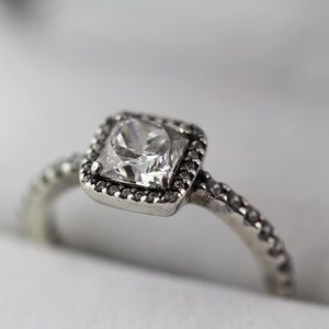 Pandora Halo Ring - Size 5.5